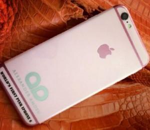 Ювелиры из Британии презентовали ограниченный тираж розовых iPhone 6