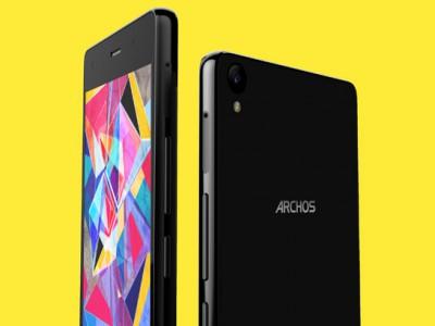 Первый смартфон от Archos с AMOLED-дисплеем