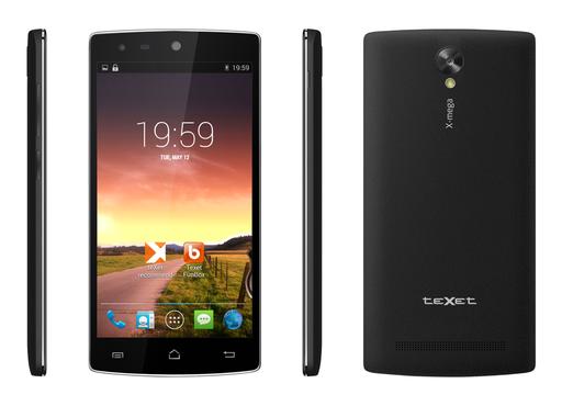 teXet представил новый недорогой смартфон