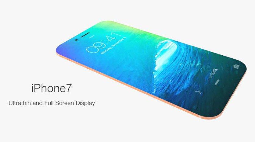 Презентован концепт нового ультратонкого iPhone 7