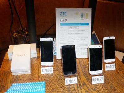 ZTE Blade S7 появился уже в России