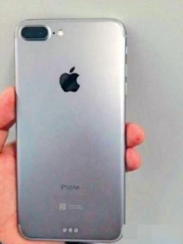 Появились первые «живые» фото iPhone 7 Plus