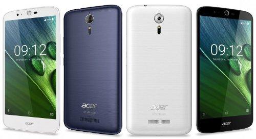 Acer показала новый мобильник Liquid Zest Plus