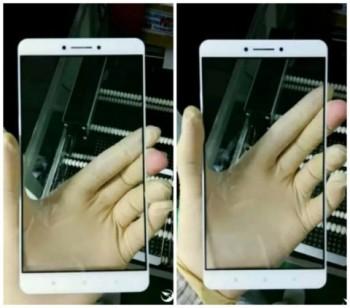 Засветились фото передней рамки 6,4-дюймового Xiaomi Max