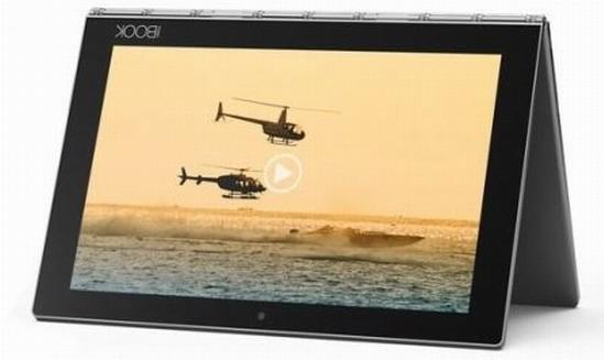 Lenovo планирует выпустить новый планшет Yoga Book на базе ОС Андроид