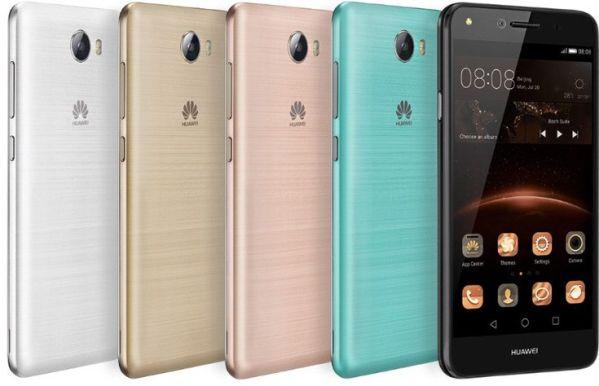 Huawei презентовала два бюджетника Y5 II и Y3 II