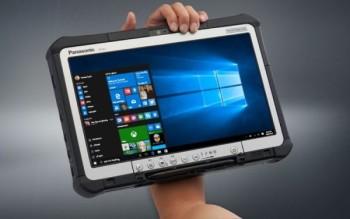 Panasonic презентовал модернизированную версию планшета Toughbook CF-D1