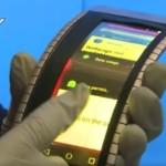 Китайцы презентовали уникальный смартфон с гибким экраном