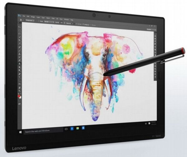 Lenovo представила планшет ThinkPad X1 Tablet