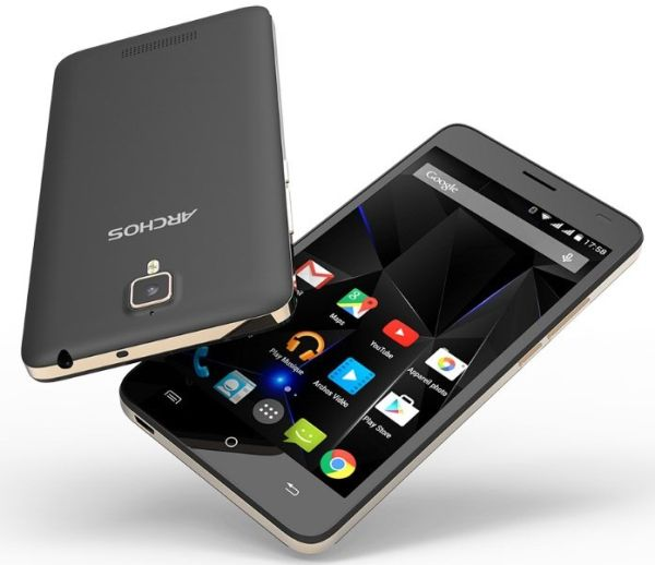 Стала известна дата начала продаж смартфона Archos 50d Oxygen