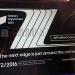 Samsung презентует смартфон Galaxy Note 7 в августе