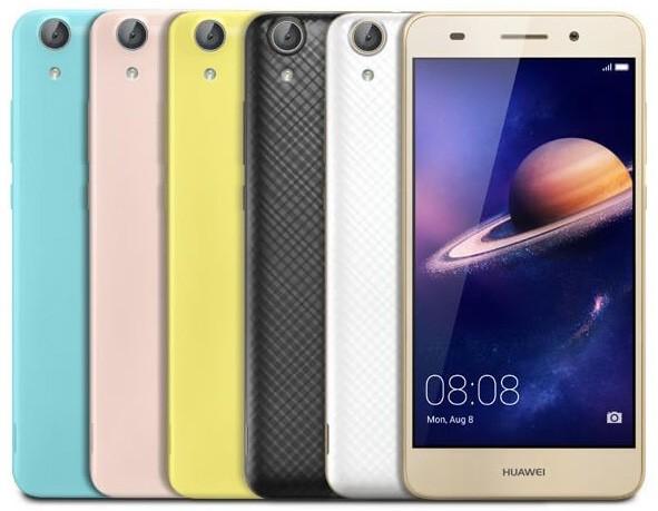 Huawei презентовала бюджетники Y6 II и Y6 II Compact