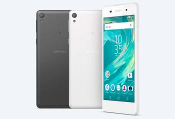 Sony презентовала смартфон Xperia E5