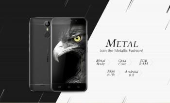 Корпорация Ulefone провела анонс своего нового мобильника Ulefone Metal
