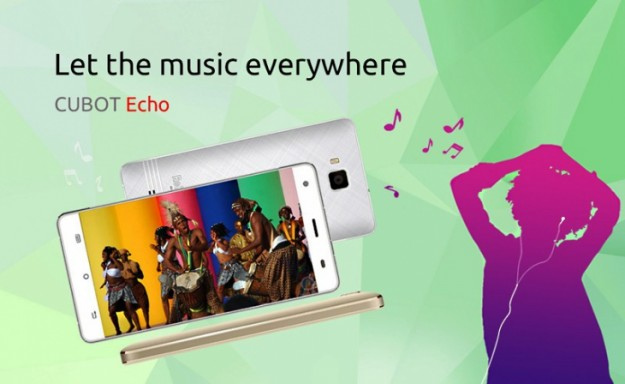 Cubot показала музыкальный смартфон Echo