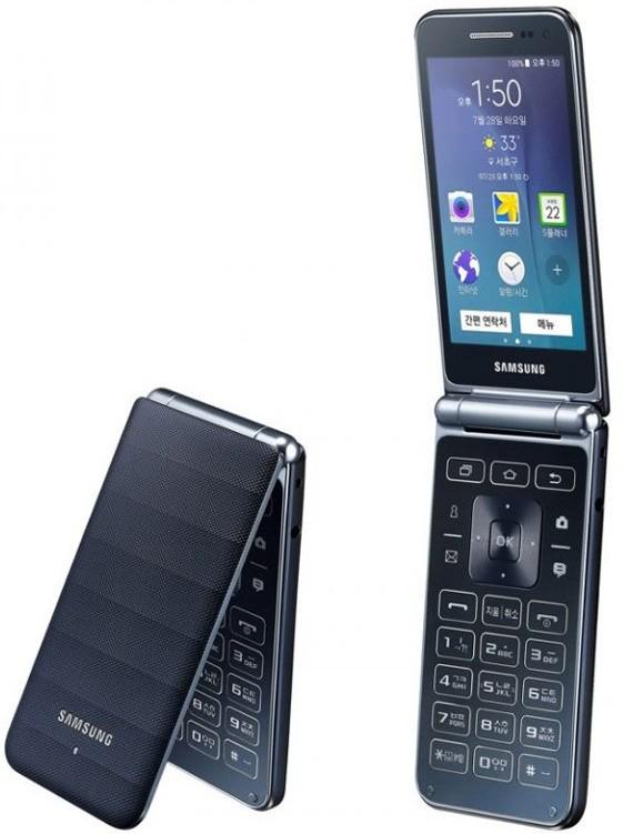 Скоро состоится анонс «раскладного» смартфона Samsung Galaxy Folder 2