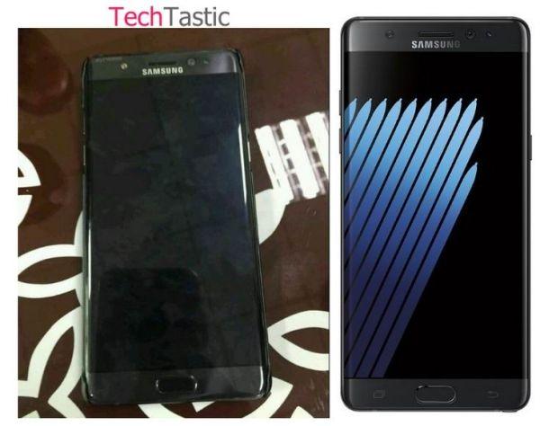 В сети опубликованы первые реальные снимки смартфона Samsung Galaxy Note7