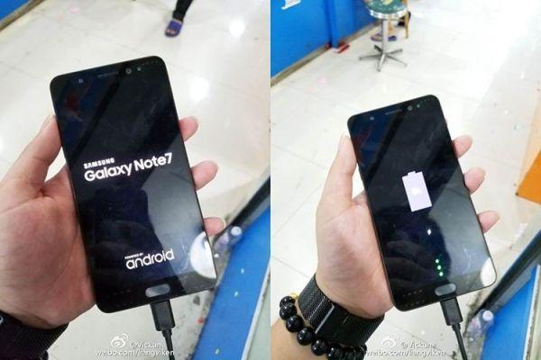 Появились новые фото Samsung Galaxy Note 7