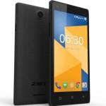 Презентован новый смартфон Zen Cinemax 3 с поддержкой двух сим-карт