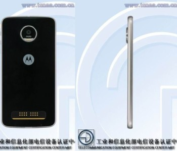 Появились фотографии нового смартфона Moto Z Play