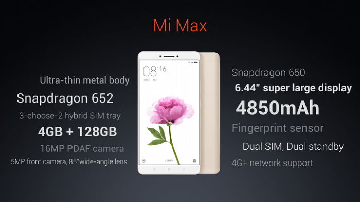 Xiaomi-MI-Max-Specifications