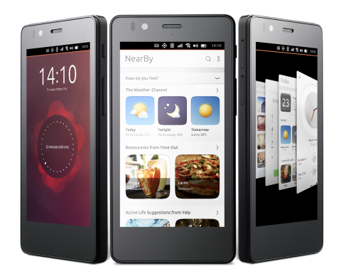 BQ Aquaris E4.5 на Ubuntu выйдет в продажу уже на днях