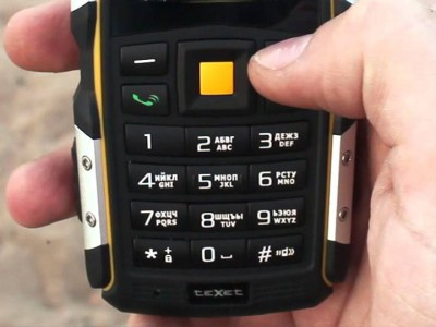 Первый защищённый смартфон от teXet