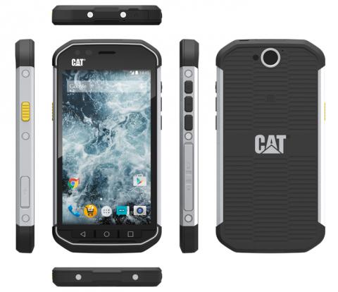 Защищённые смартфоны от Caterpillar