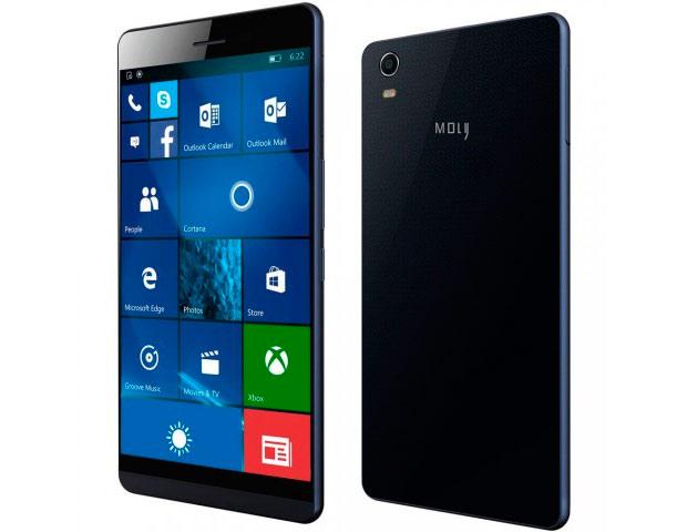 В продаже появился самый тонкий телефон на Windows 10 Mobile