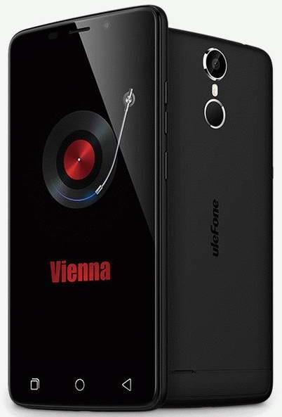 Ulefone представила свою новую разработку – смартфон Vienna