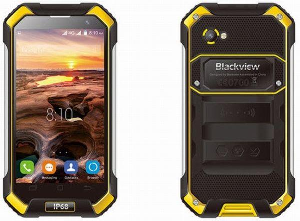 «Брутальный» Blackview BV6000 представлен официально