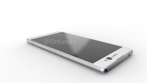 Появились рендерные фото нового смартфона Sony Xperia C6 Ultra