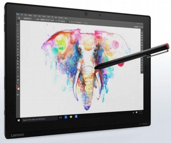Lenovo представила планшет ThinkPad X1 Tablet