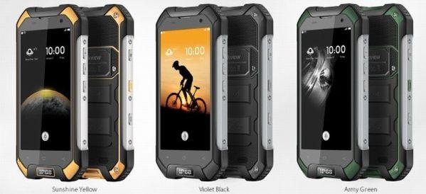 Стала известна стоимость смартфона Blackview BV6000S