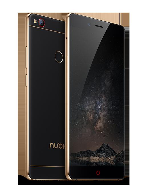 ZTE Nubia Z11 черно-золотой