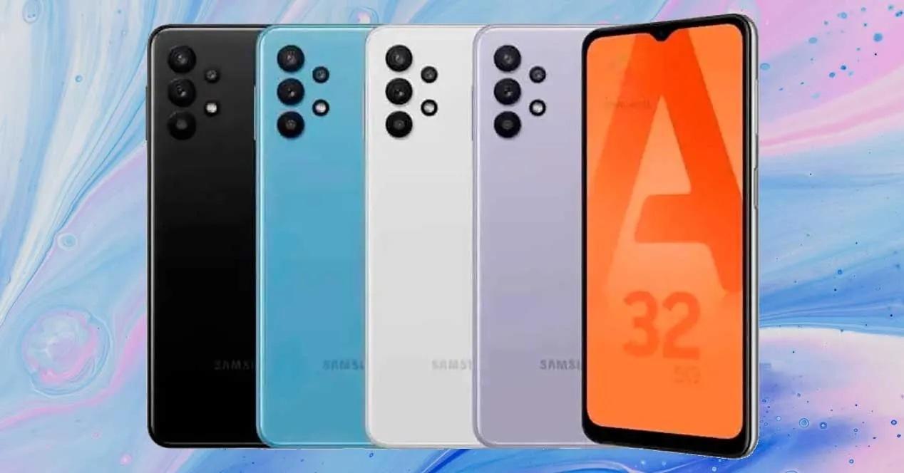Смартфоны Samsung Galaxy A32